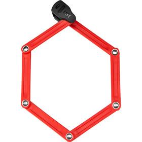 ABUS Bordo Lite 6055C/85 SH Candado Plegable, rojo